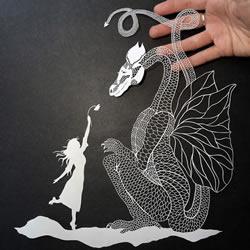Maude White 鬼斧神工的剪纸艺术