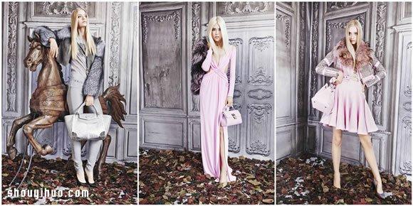Philipp Plein 2015綺麗色彩早秋女裝穿搭