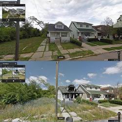 Google街景的见证下 看尽底特律社区兴衰