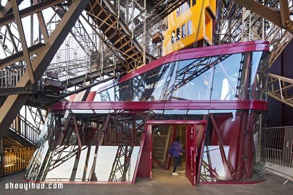 到巴黎铁塔太空漫步 法国第一高塔崭新面貌