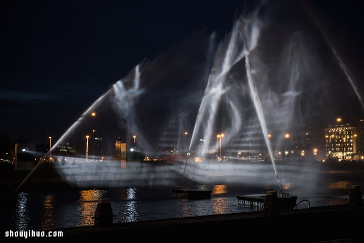 VisualSKIN 在阿姆斯特丹打造3D幻象幽灵船