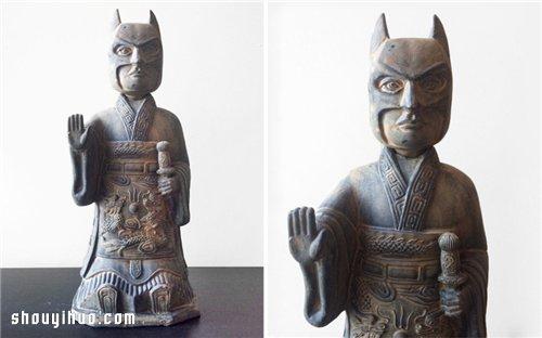 中西方文化的结合:恶搞经典卡通形象兵马俑 -  www.shouyihuo.com