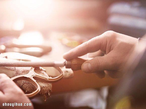 Burberry 纯手工眼镜制作过程 -  www.shouyihuo.com