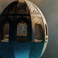 灵感来自于摩洛哥文化的精美纸雕作品欣