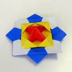 纸陀螺的制作方法 纸陀螺的折法图解教程