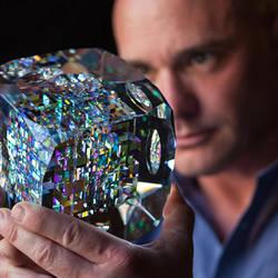 Jack Storms光学雕刻 打造玻璃雕刻艺术品