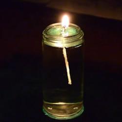 自制超有情调的水蜡烛DIY手工制作方法教