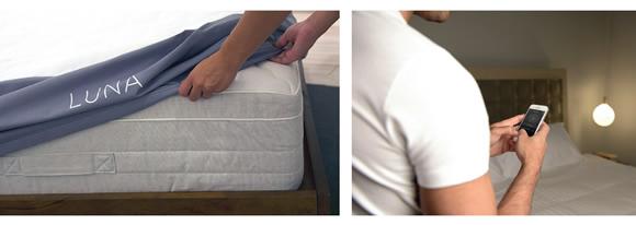 Luna智能床罩設計 讓你每天都擁有完美睡眠