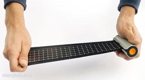 WAACS 公司捲軸式太陽能移動電源設計