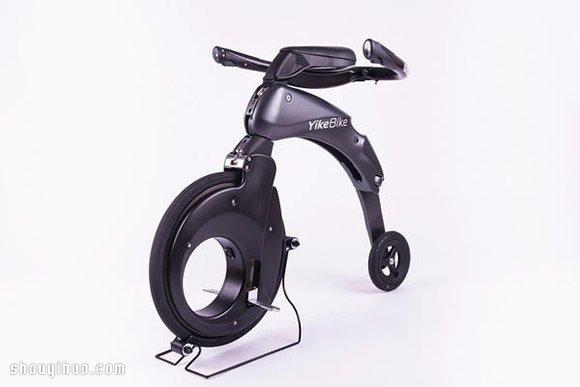 超輕便超迷你的可摺疊電動車 Yikebike