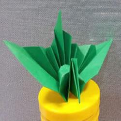 立体千纸鹤的折法图解 折千纸鹤的方法步骤