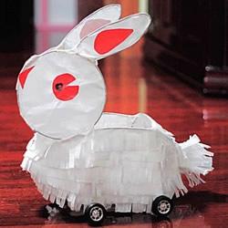 元宵节兔子灯笼制作方法 自制兔子灯的教