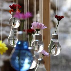 白炽灯泡废物利用手工DIY制作煤油灯花瓶