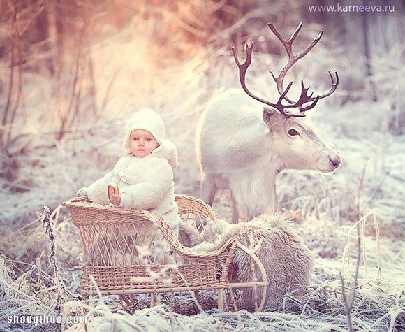 雙倍融化人心!兒童與動物攝影作品欣賞