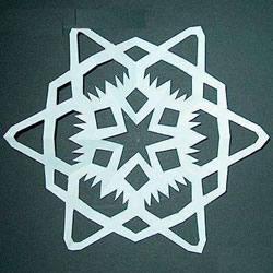雪花窗花的剪法 剪窗花的制作过程步骤教