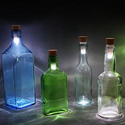 可充电式软木塞LED 把玻璃瓶变成情境灯