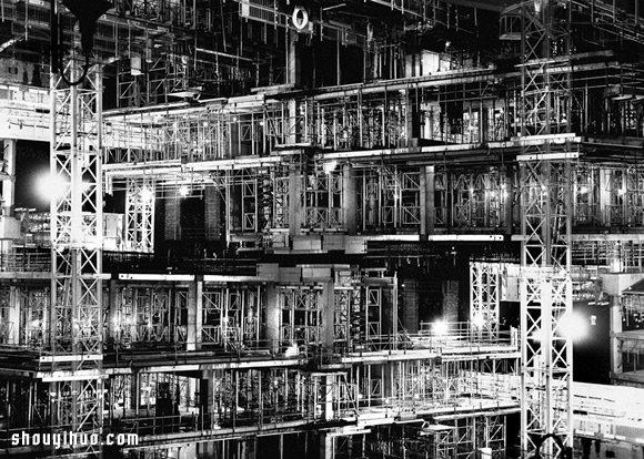 Lewis Bush作品:噩夢般的紛亂倫敦景像
