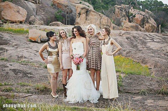 婚紗穿搭創意:不要一成不變的伴娘裙