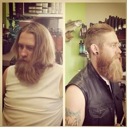 邋遢男士换个短发发型 立马变身帅气型男!