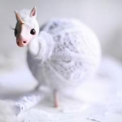 俄罗斯美女 Oso Polar 的精美粘土手作