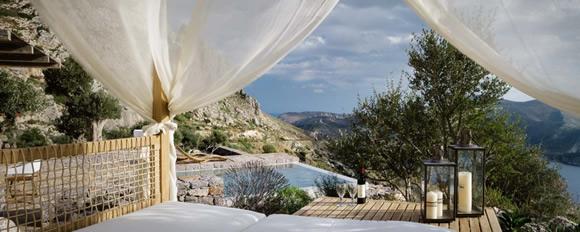 希腊南端的度假旅馆 TAINARON BLUE