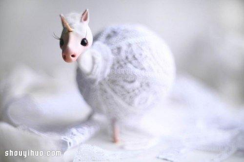 俄羅斯美女 Oso Polar 的精美粘土手作