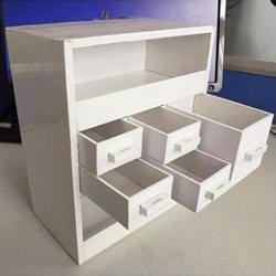 废旧纸箱废物利用 手工制作柜子/书柜/衣