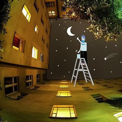 Thomas Lamadieu 充满童趣的手绘天空