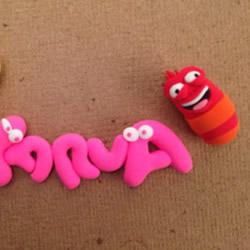软陶虫子玩偶手工制作 粘土DIY可爱的虫子