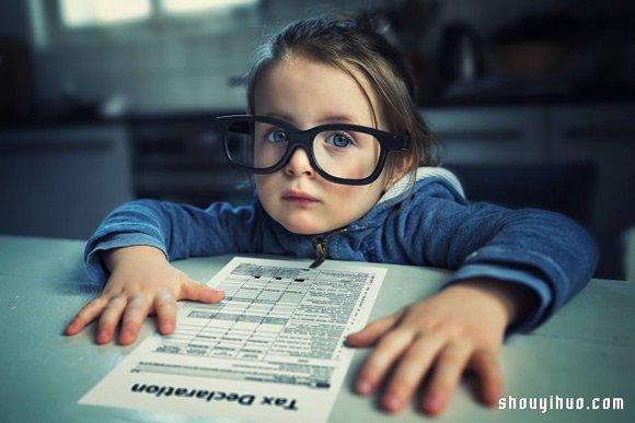 創意兒童成長照:我也想要有個會PS的老爸