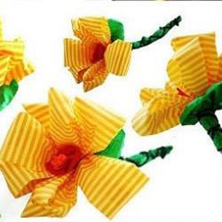 简单手工折纸花朵的步骤方法图解教程