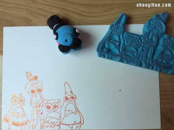 一组好玩的橡皮章作品 各种图案都有啦~ -  www.shouyihuo.com