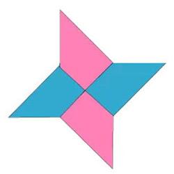 四角飞镖怎么折 四角飞镖的折法图解教程