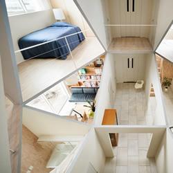 Kame House 颠覆你对楼层与隔间的想象