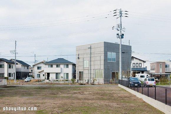 Kame House 颠覆你对楼层与隔间的想象 -  www.shouyihuo.com