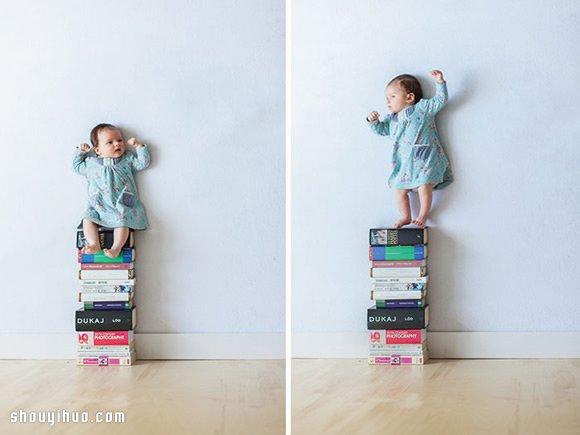 不用PS也能令人回味無窮的創意寶寶攝影!