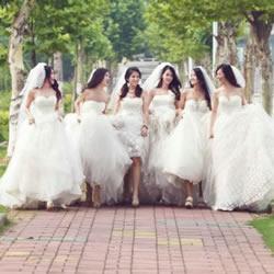 DIY超美的婚纱版毕业照