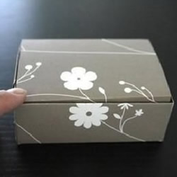 折纸礼品盒包装盒子图解教程