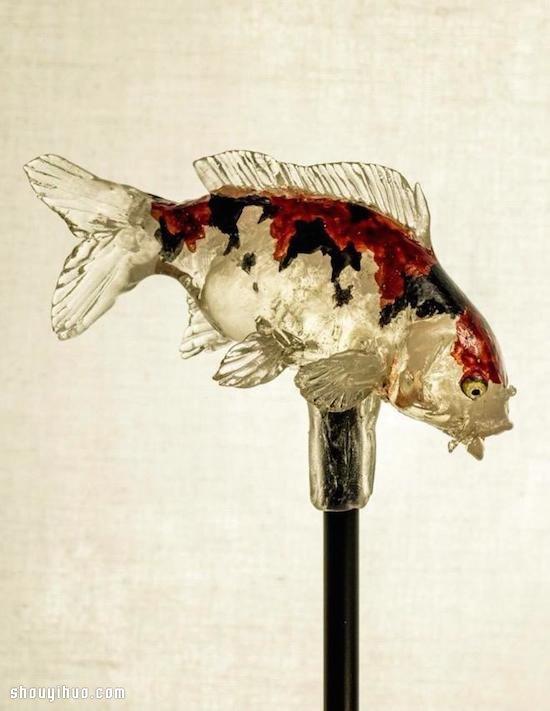美到不可思议的手工棒棒糖-「饴细工」 -  www.shouyihuo.com