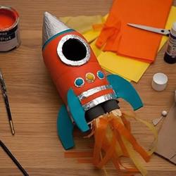 儿童玩具航天飞机的制作方法图解教程