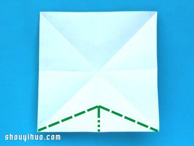 如何折纸香蕉 折纸香蕉的折法步骤图解教程 -  www.shouyihuo.com
