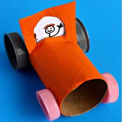 六一儿童节礼物:小汽车玩具模型手工制