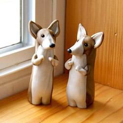 精美细腻的陶艺动物雕塑作品欣赏