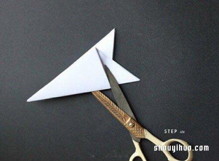 剪窗花的详细步骤图 窗花的剪法步骤图解 -  www.shouyihuo.com