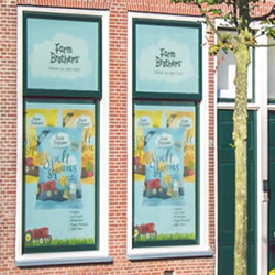 出租你的窗户做广告 轻松赚外快!
