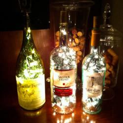 三种玻璃瓶废物利用DIY的小创意