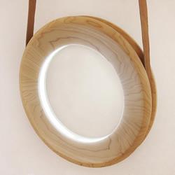 像扯铃般轻柔滚动 动态灯具设计Halo Lam