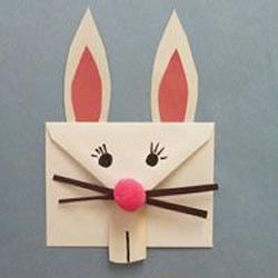 兔子信封的制作方法 兔子信封手工制作教程