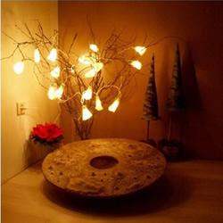羊毛毡手工DIY制作漂亮灯饰灯罩的方法