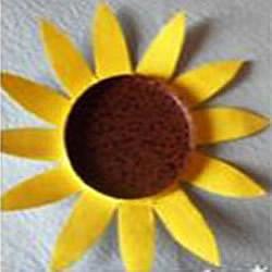 一次性纸杯制作太阳花的方法图解